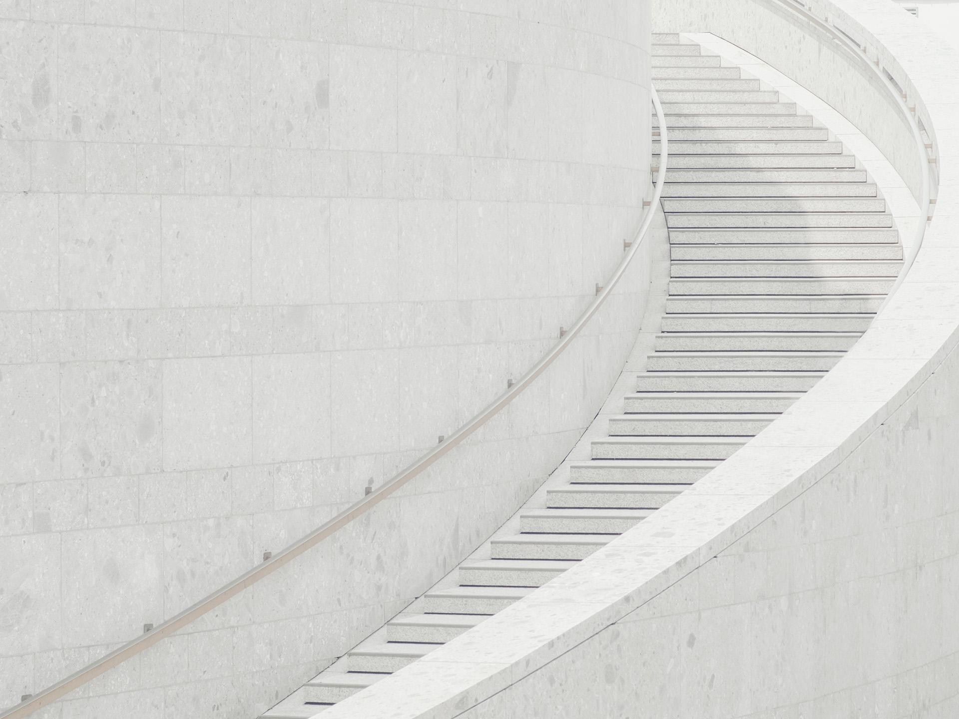 schody w tle