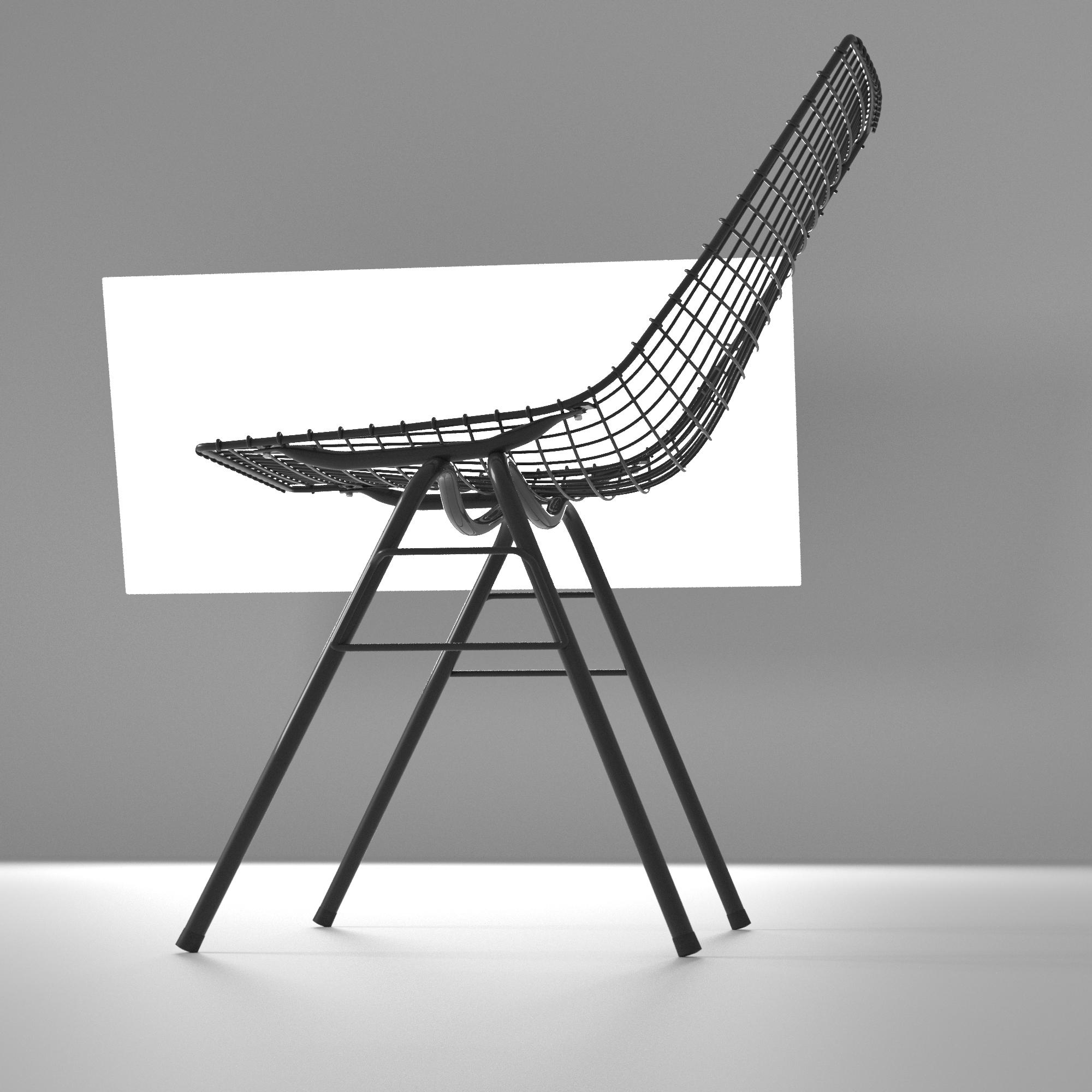 wizualizacja produktowa krzesła