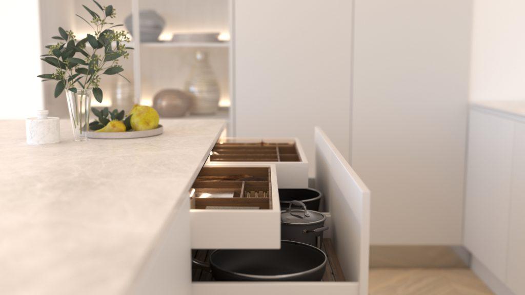 wizualizacja szafek kuchennych