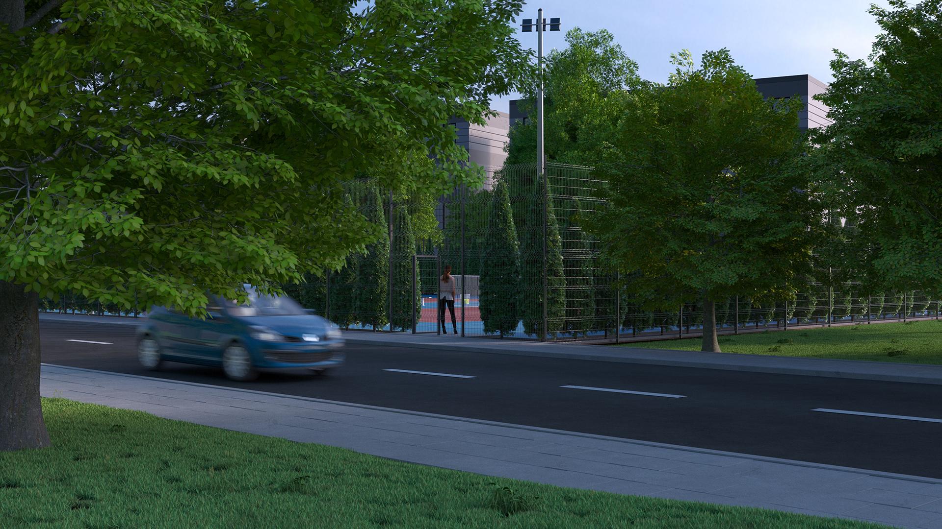 wizualizacja ulicy